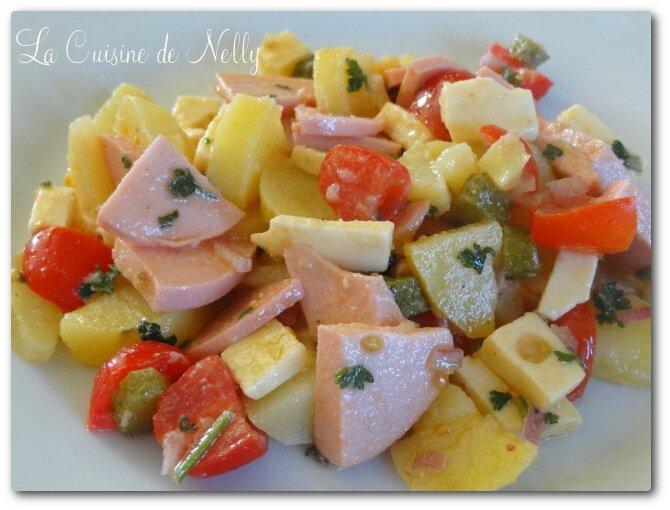 Salade de pommes de terre au cervelas1