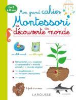 Mon grand cahier Montessori de découverte du monde couv