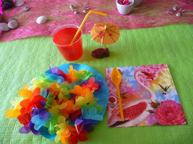 décos hawaï party 9