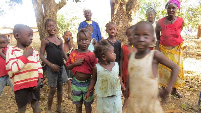 enfants de Balandougou
