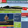 L'historial de la vendée renouvelle son site internet