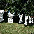 Les couches et lingettes lavables, le bon choix pour bébé, les animaux et la planète