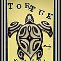 46 Tortue Maori cd18