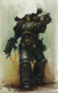 Space Marine Iron Warriors