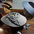 Voilà des idées de chapeaux ...