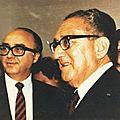 K issinger, ancien secretaire d'état americain