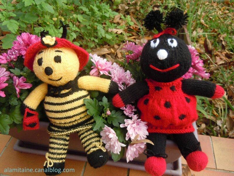 abeille coccinelle