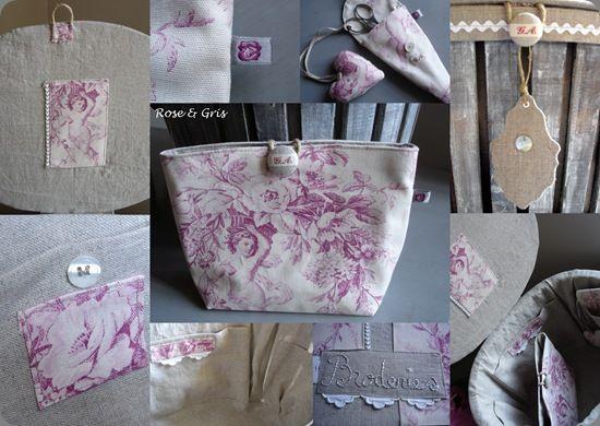 Cagette en rose détails pf