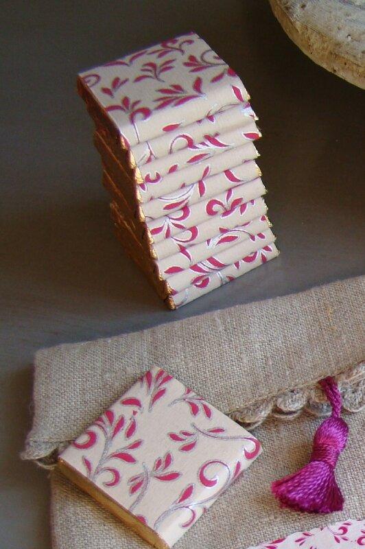 pochon carrés de chocolat détail carrés personnalisés