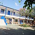 6 salles de classe côté collège