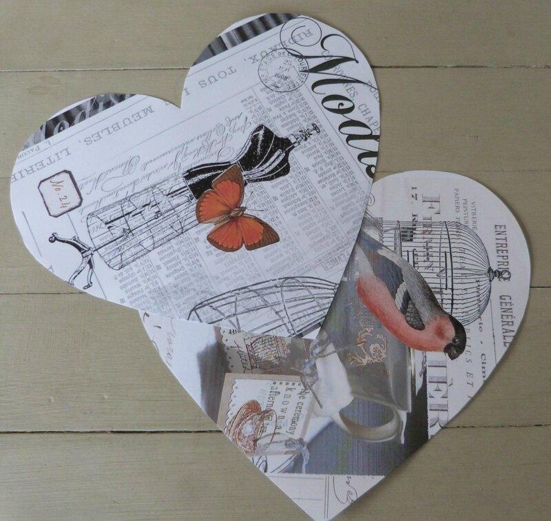 Enveloppe Coeur - (1)