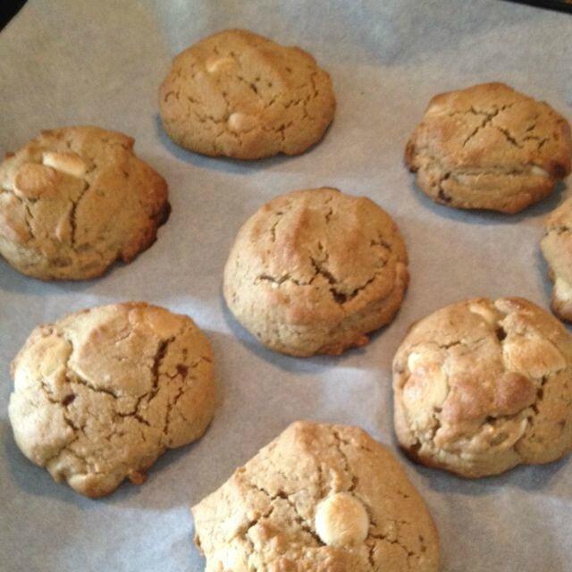 Cookies aux pépites de chocolat blanc de Audrica
