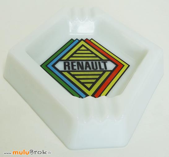 RENAULT-Cendrier-rare-Objet-pub-7-muluBrok-Vintage