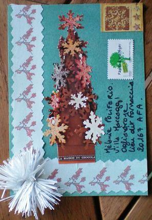 117~Titetulipe Sapin de Noël en chocolat