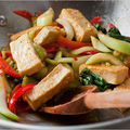Chou chinois au tofu