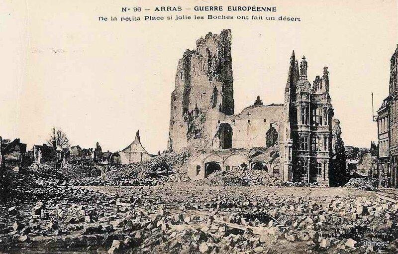Arras La peite place