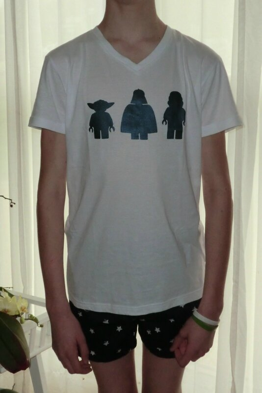 Jimmy - 2014-04-05 - pyj' Star Wars personnages (détail)