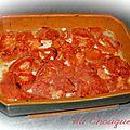 Tian de tomates et pommes de terre