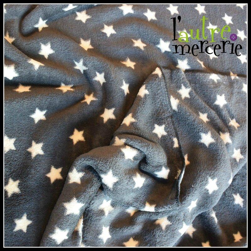 fleece étoiles