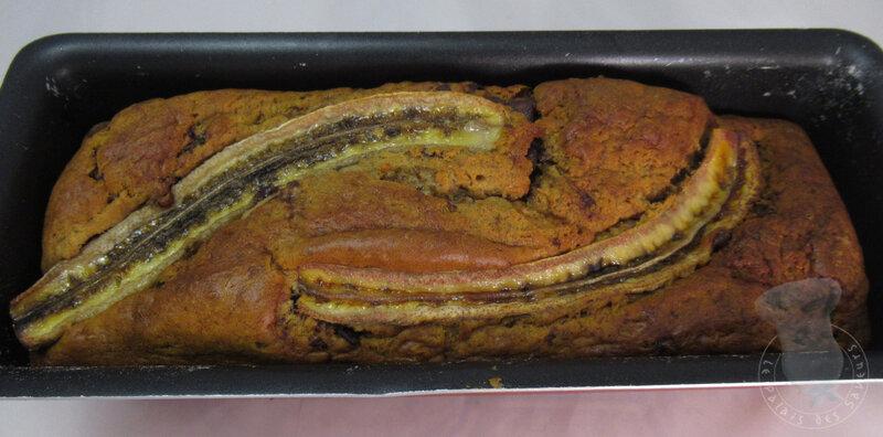 Banana bread Spéculoos chocolat