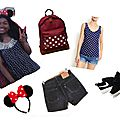 Hey disneyland ! what i wear + essentials in my backpack