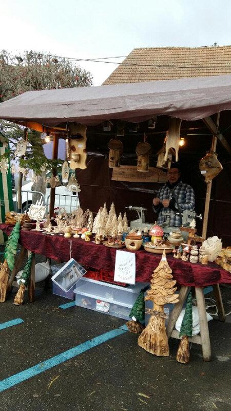 marché de Noël Cathy