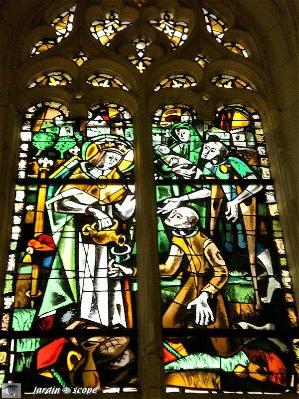 Vitraux de la Chapelle d'Amboise