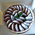 tarte aux abricots à offrir