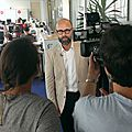 Frederic fougerat / making of interview bfm tv