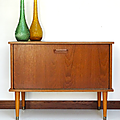 Petit mobilier ... meuble bar scandinave *