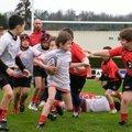 13-14, école de rugby et ambiance, 30 mars 14