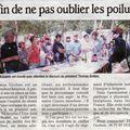 Article paru dans le vaucluse matin le 2 09 2009 méchoui de l'association