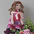 Tutoriel pdf en français lilas rose amigurumi au crochet