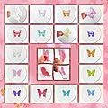 Petites ailes de papillons 3.5 cm