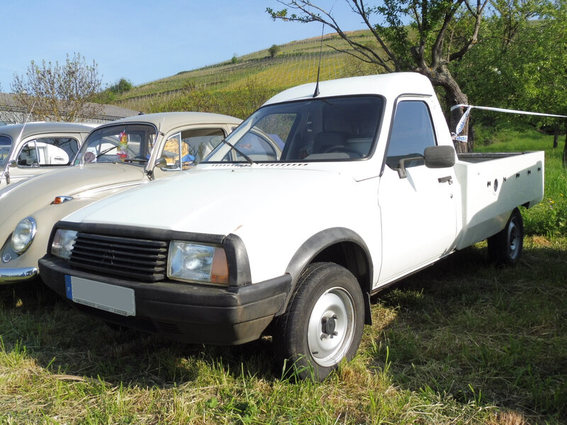 CITROËN C15E pick-up par Gruau Soultzmatt (1)