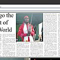 Article of kesa nkulu about nkua tulendo in the phoenix newspaper (november 2016)