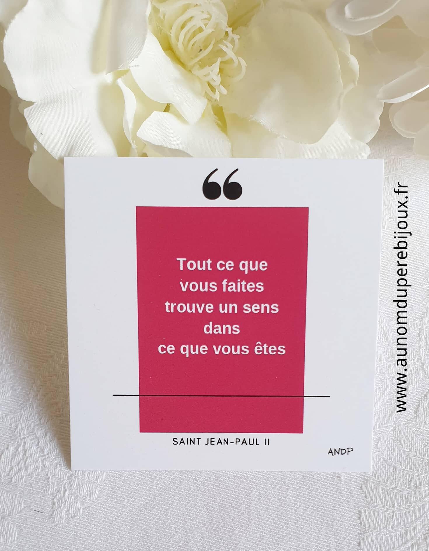 Cartes Cl1 Dieu hommes Jean-Paul 2 -21 €