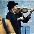 Un violoniste dans le métro