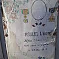 Moulin léon (valençay) + 14/05/1915 ablain saint nazaire (62)
