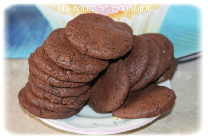Cookies chocolat 10