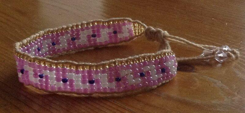 bracelet_tiss__rose