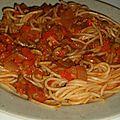 Sauce sicilienne aux poivrons