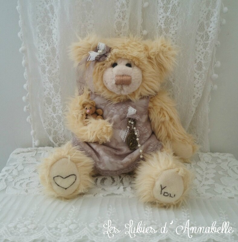 Ours Shabby Chic ours de collection