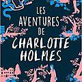 Les aventures de charlotte holmes, de brittany cavallaro, chez pkj