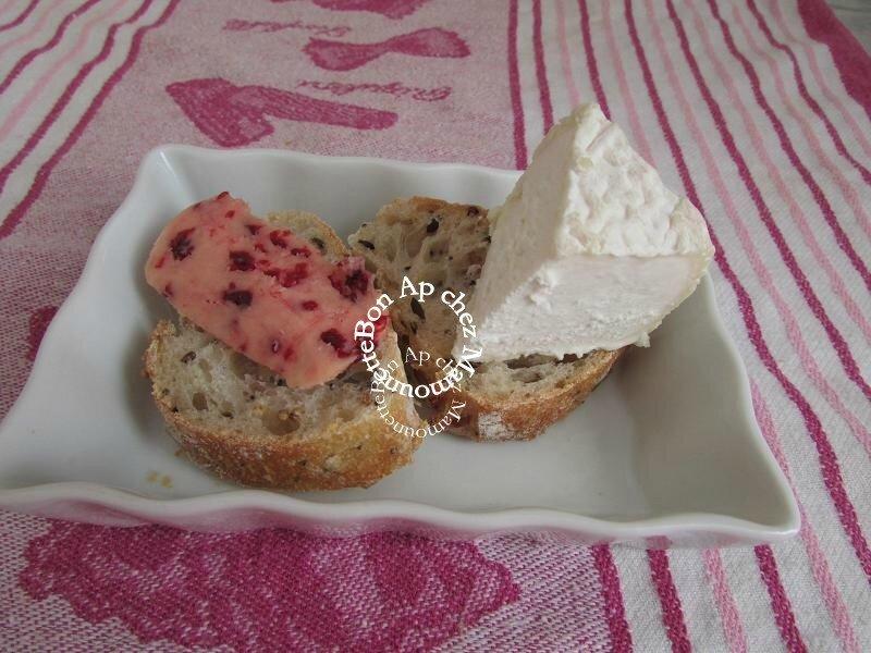 Bouchots 2015 et beurre salé à la framboise de chez Bordier 004