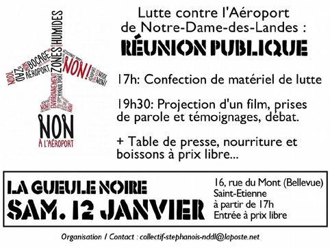 Réunion publique du 12 janvier 2013 ZADnet
