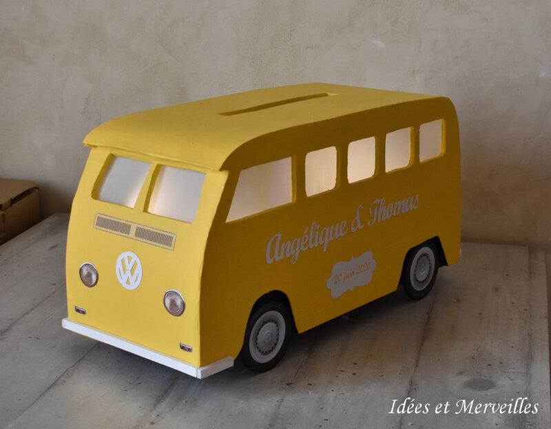 urne combi vw jaune - idees et merveilles -5