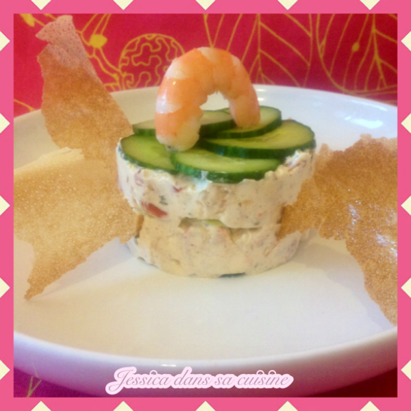 timbale crevettes