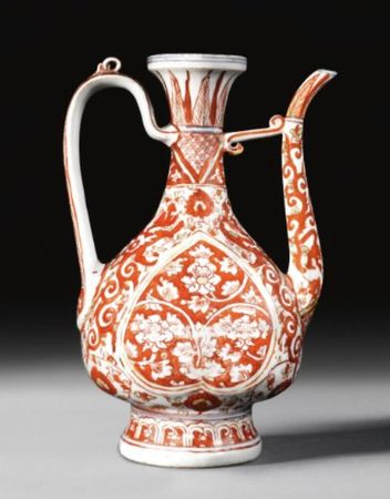 A_POLYCHROME_ENAMELLED_EWER_FOR_THE_ISLAMIC_MARKET