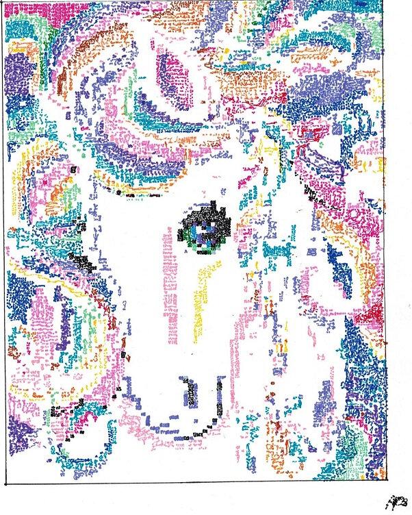 Dessin Et Pixel